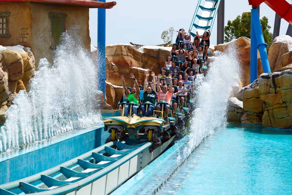 Portaventura is great for Barcelona with kids