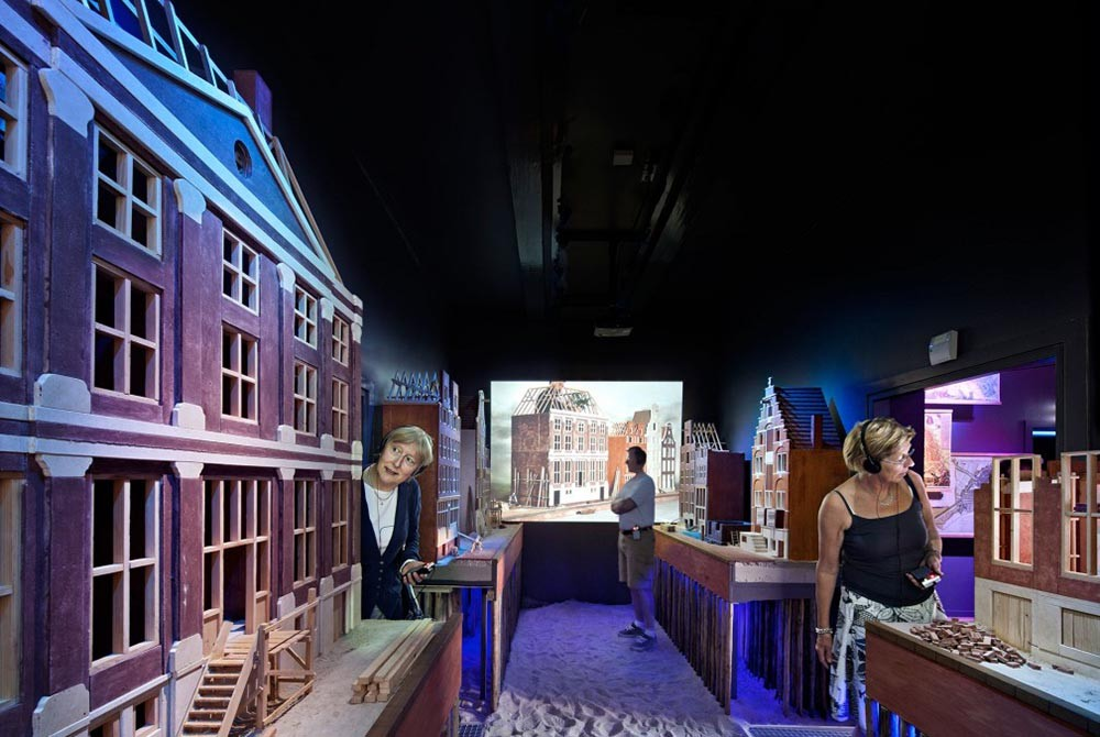 The Grachtenhuis is one of the 5 secret museums that capture the history of Amsterdam