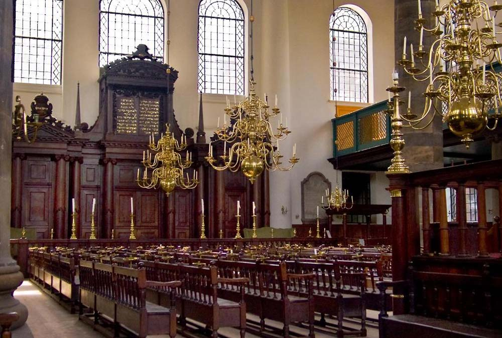The Portuguese Synagogue captures the history of Amsterdam
