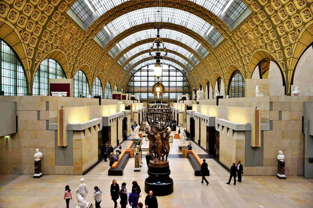One of the most romantic things to do in Paris is going to Musée d'Orsay