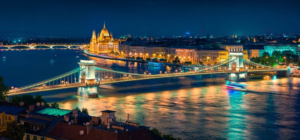 the danube is a beautiful river or dinner cruises in Europe