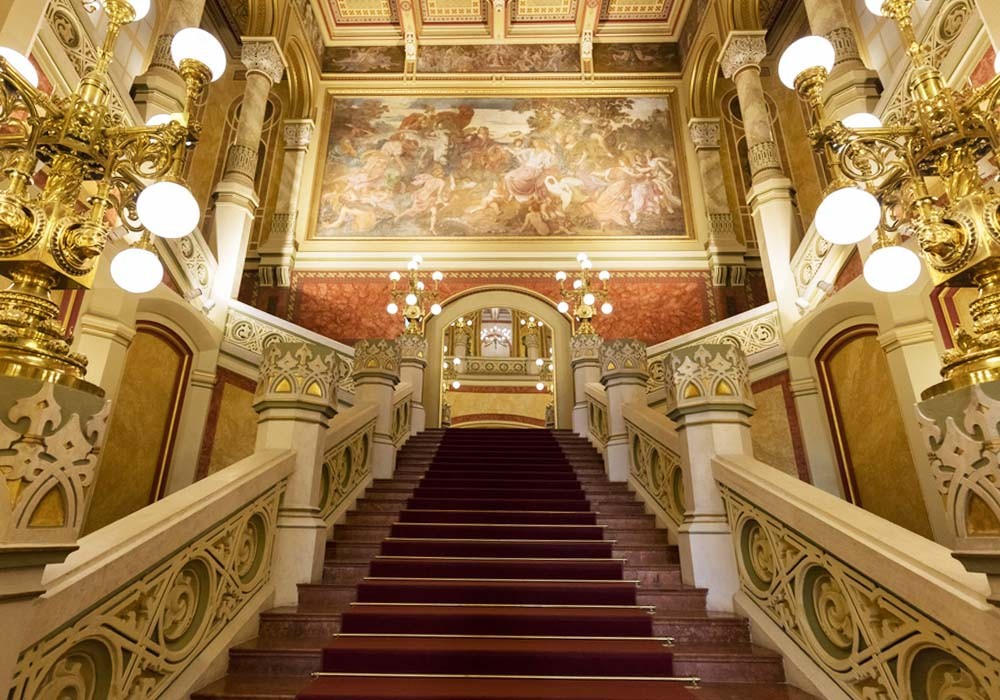 The Vigado Concert Hall is where you have to go on a budapest getaway