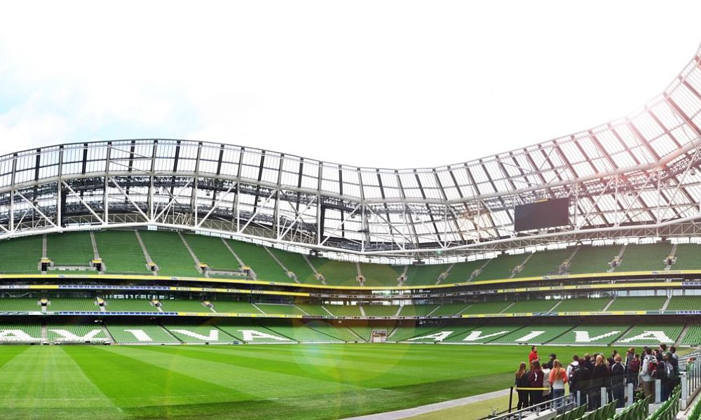 aviva stadium football stadium