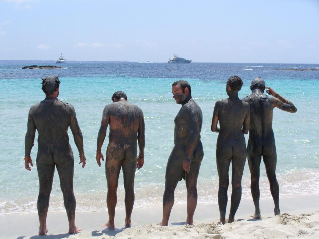 nude sunbathing barcelona
