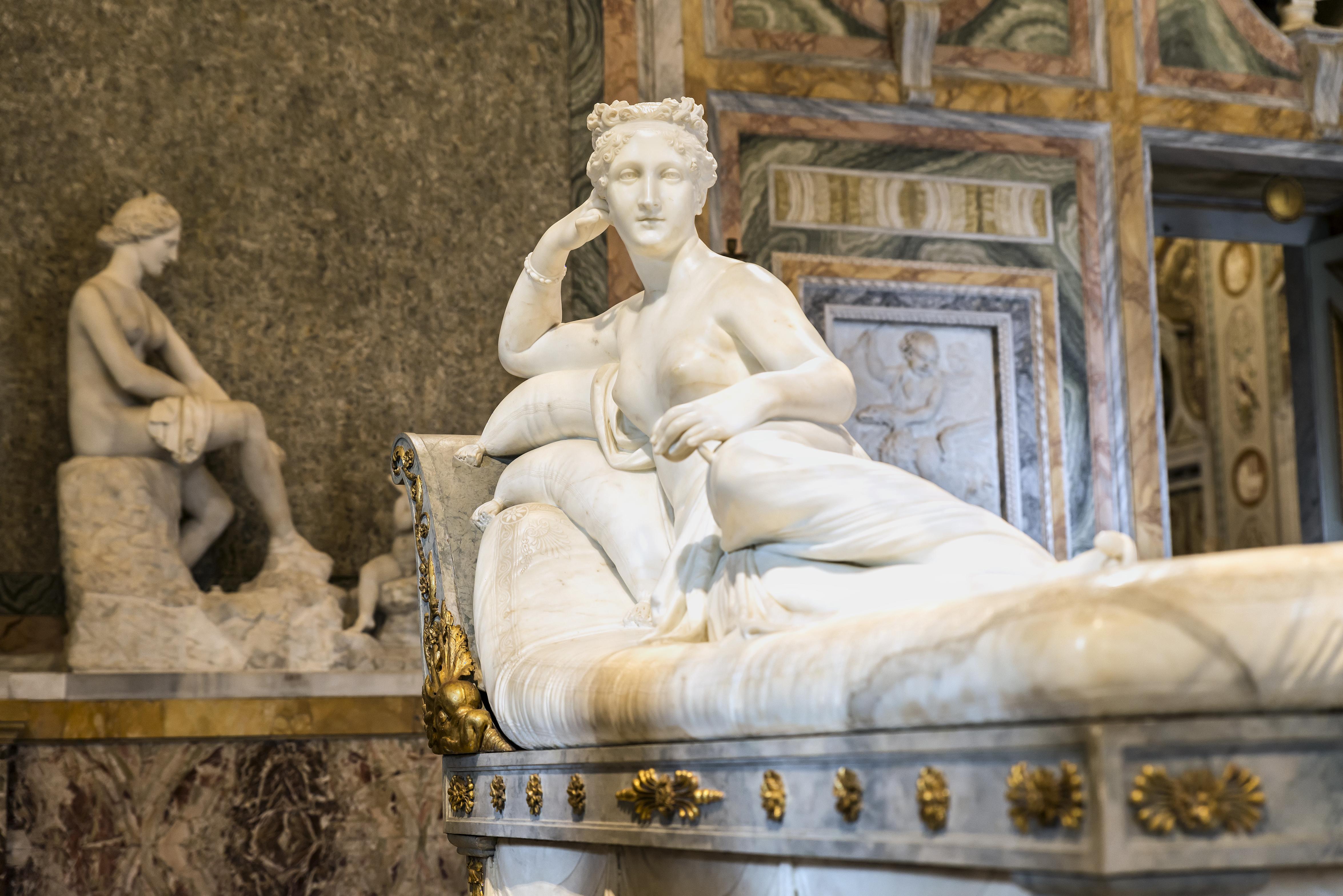 Venus Victrix at Galleria Borghese Rome