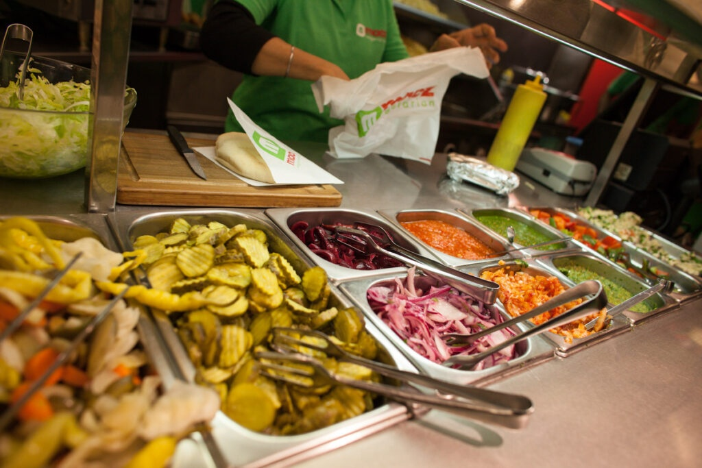 Maoz Vegetarian Amsterdam
