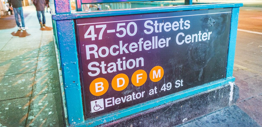 Rockefeller Center subway