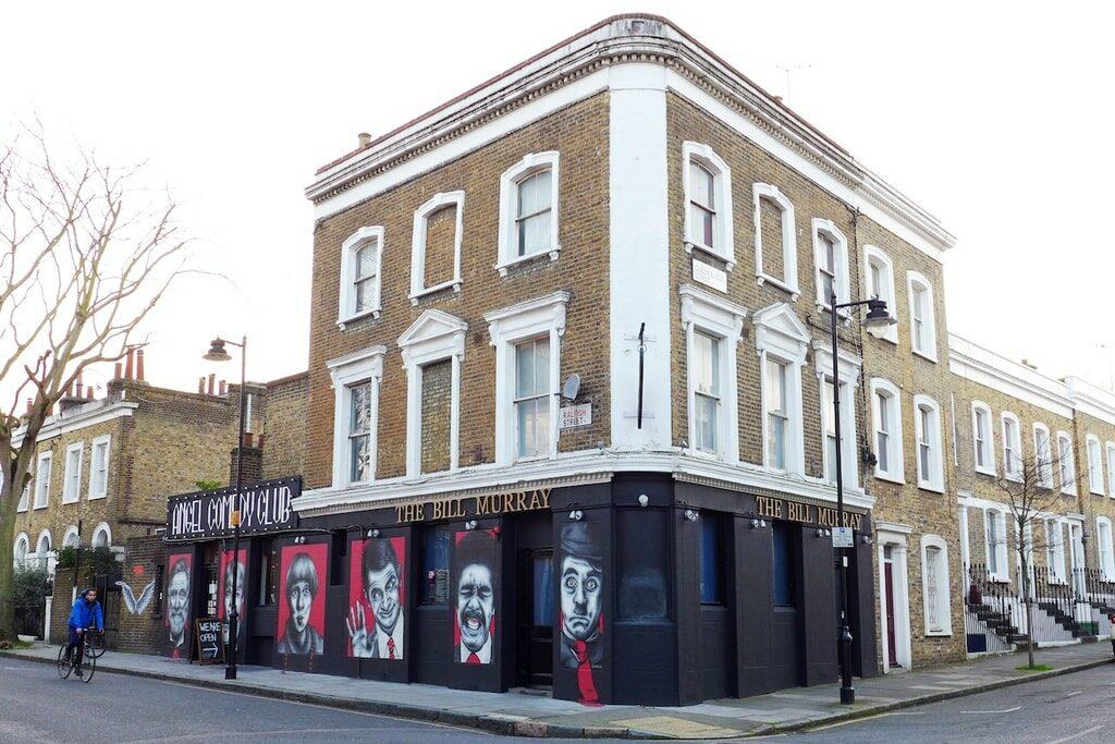 free in London - Angel Comedy Club