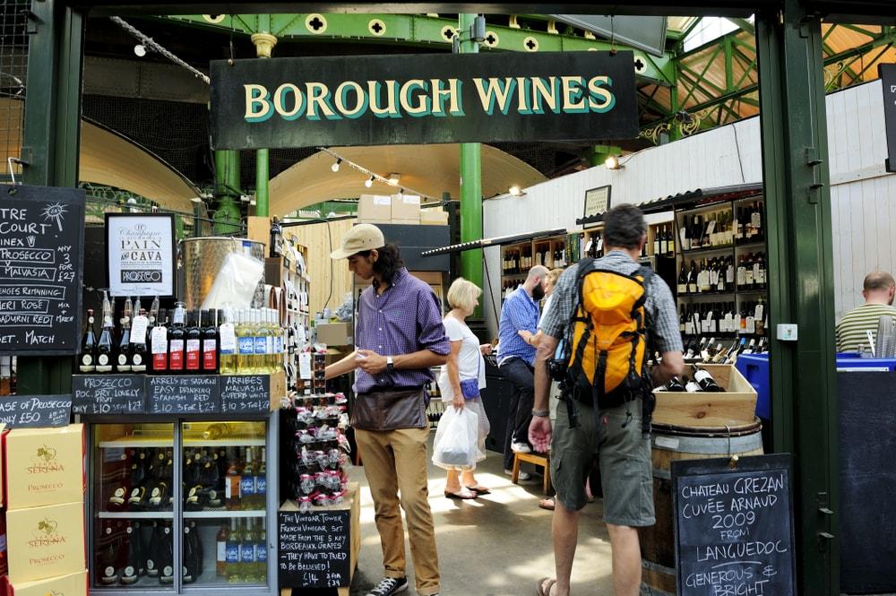 free in London - Borough Market