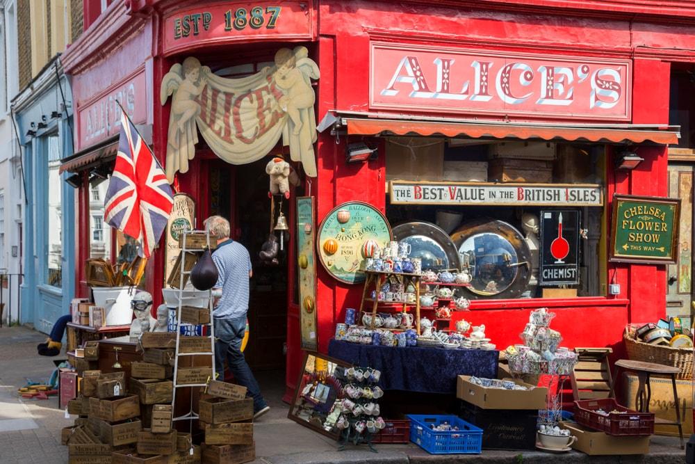 free in London - Portobello Market