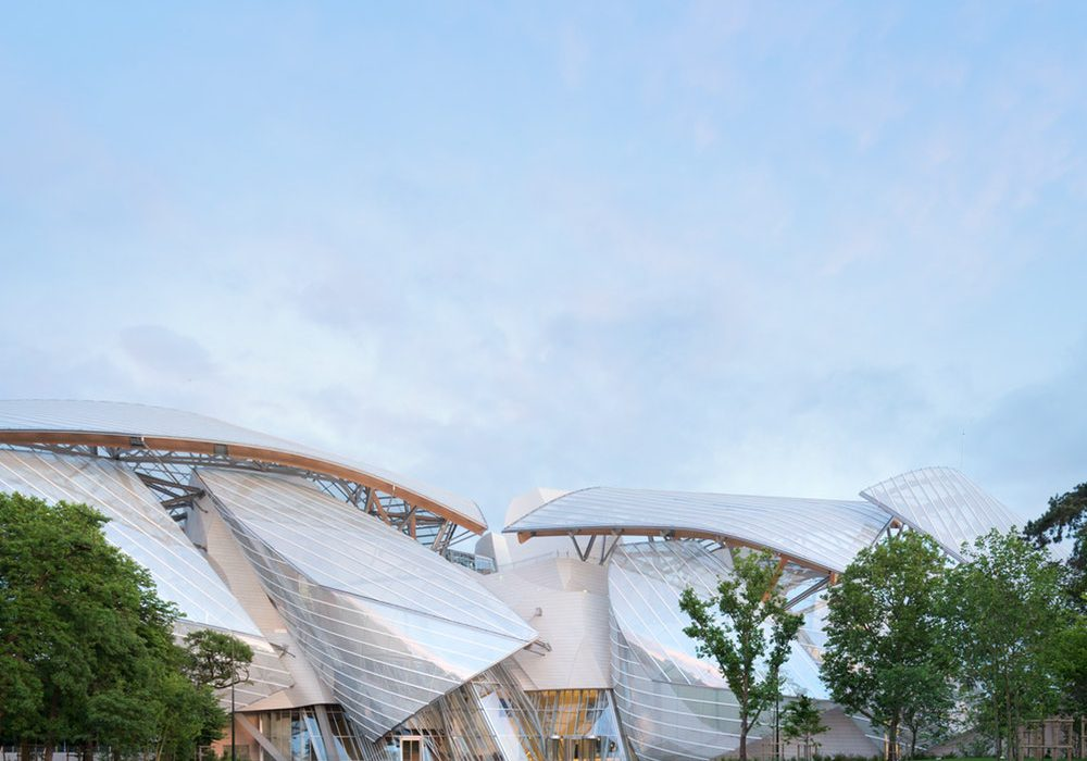 fondation louis vuitton is one of the top museums around paris