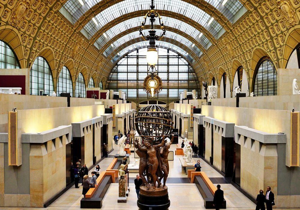 Musee d'Orsay is one of the best art museums in Paris