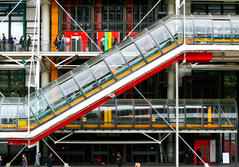 the pompidou is a top museum in paris