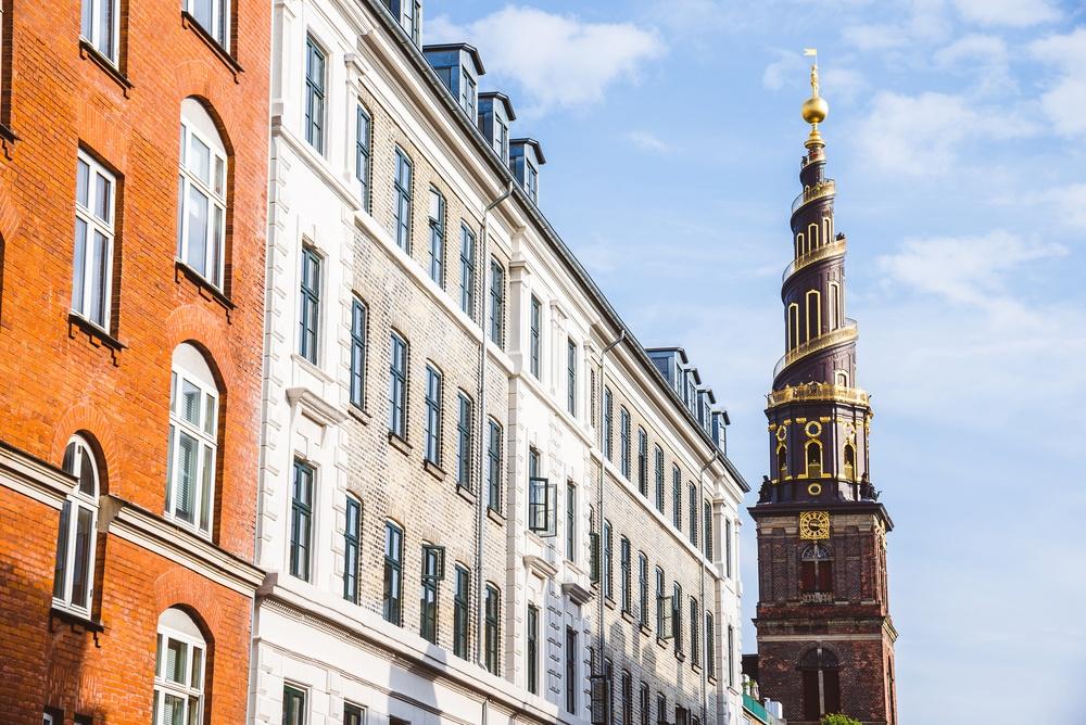 Our Saviour's Church in Copenhagen, Denmark