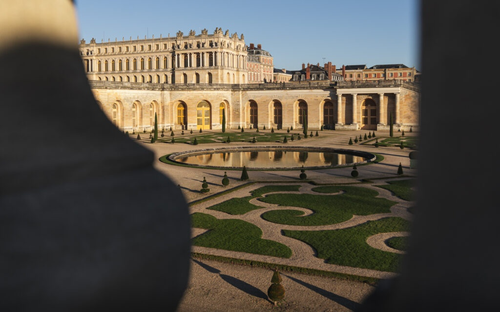 The Orangery in the Palace of Versailles