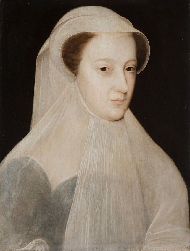 Painted portrait of Mary, Queen of Scots by Francois Clouet