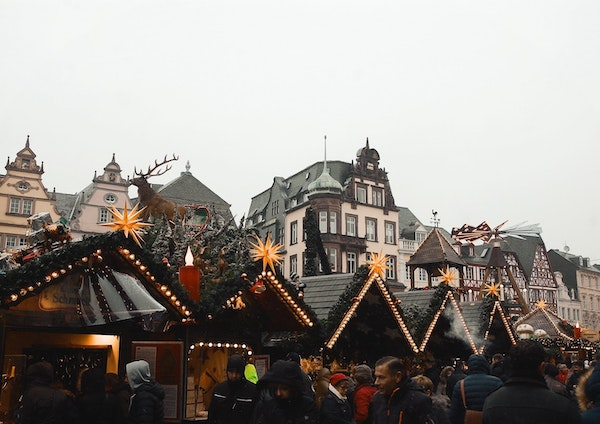 Christmas markets are a great way to play tourist in your own town