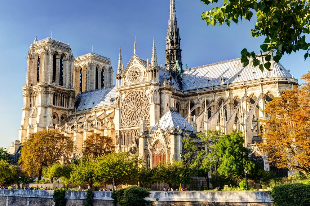 The Notre-Dame, before the unfortunate fire in 2019.