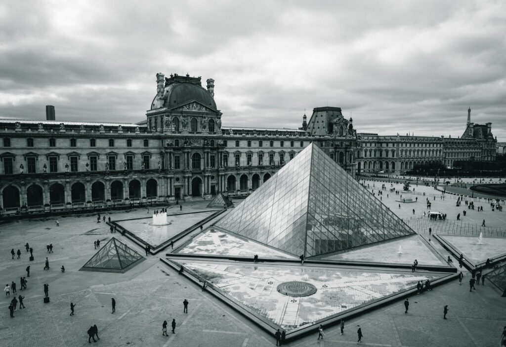 Picture of the Louvre Museum, a key part of any France bucket list.
