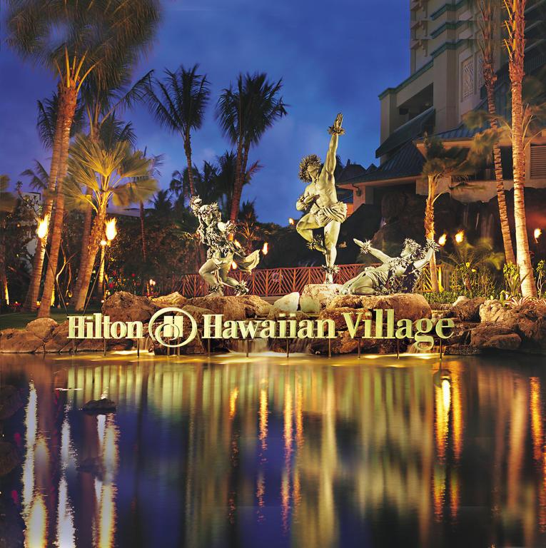 Hilton Hawaiian Village Waikiki Beach Resort Asia Book