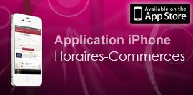 Horaires-commerces.fr est disponible en application iPhone !