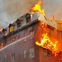 Hochhausbrand