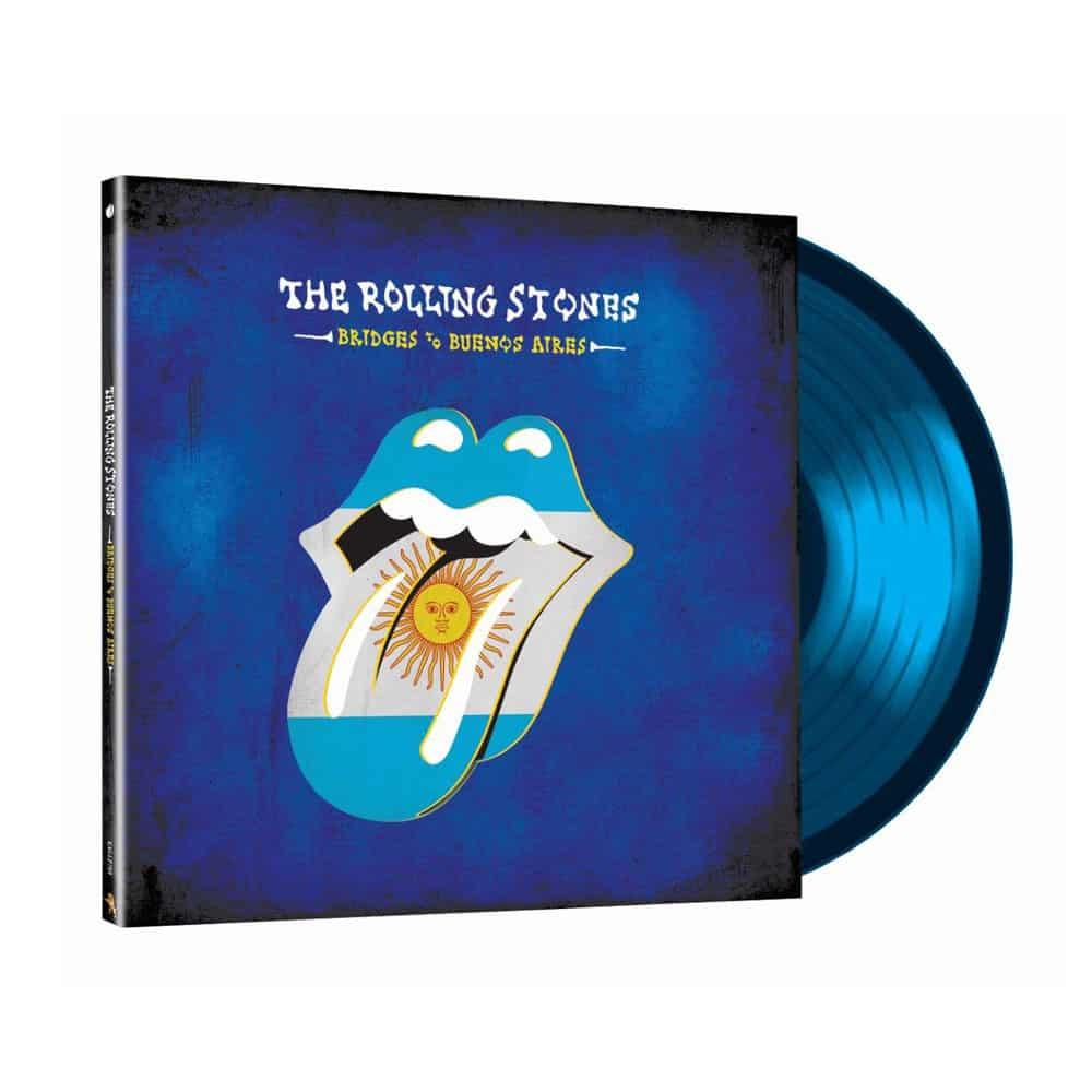 Buy Online The Rolling Stones - Bridges To Buenos Aires Triple Translucent Blue Vinyl (Ltd Edition)