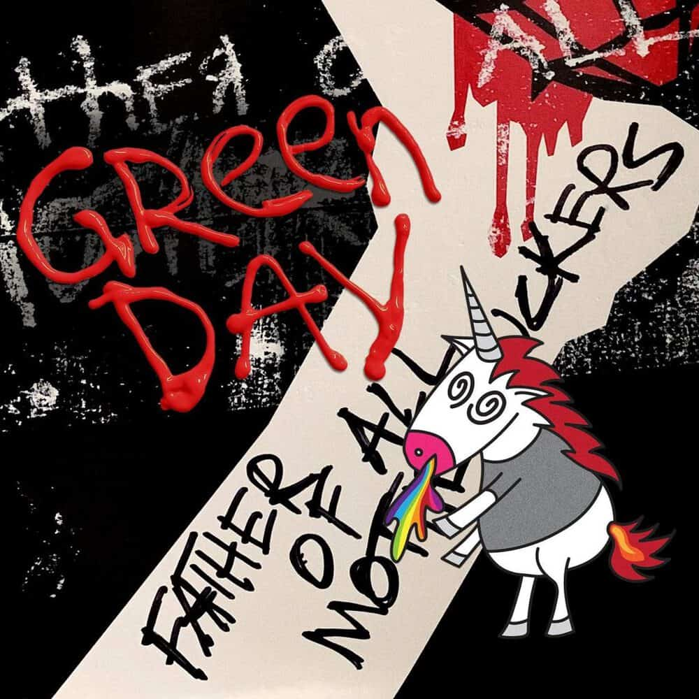 Buy Online Green Day - Father Of All... Ltd Edition Red & White Ghostly Vinyl