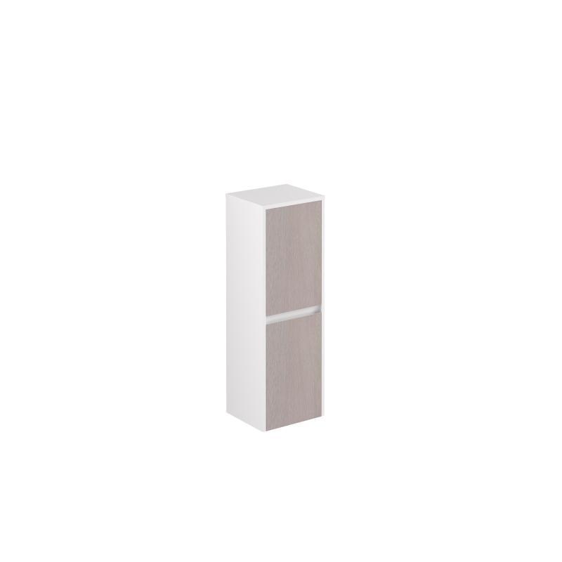 AllDay sideskap 105 tre+hvit høyglans høyre