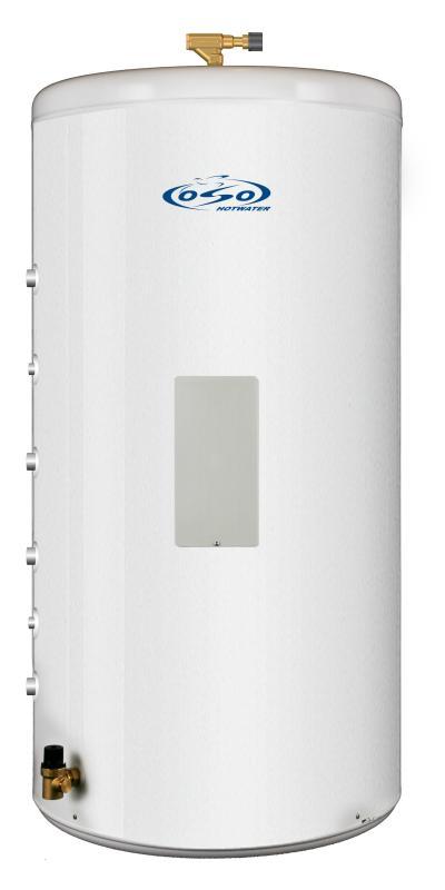 OSO Ecoline Twin Coil RI TC 200 - 3 kW + coil 0,8+0,8 m²