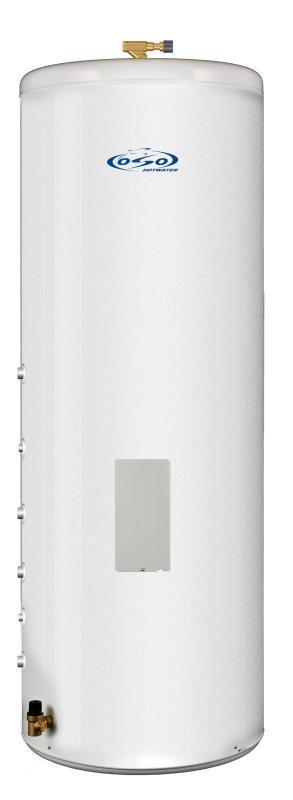 OSO Ecoline Twin Coil RI TC 300 - 3 kW + coil 0,8+0,8 m²