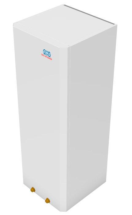 OSO Slank Kabinett vegg Cubix C 100 - 2 kW/1x230V