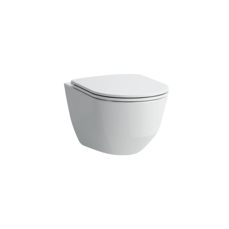 Pro design toalett, hvit