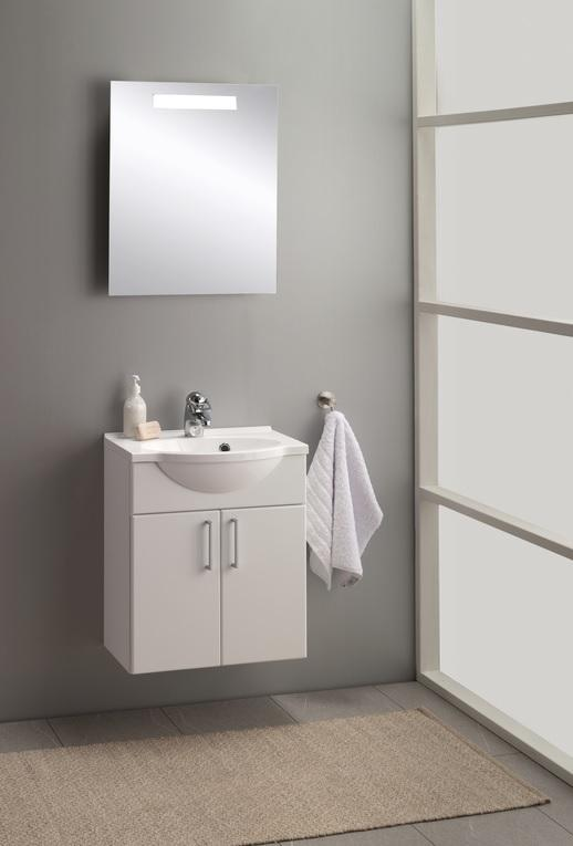 Vita buet hvit matt 50 cm