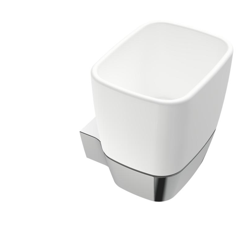 White Keramikk Veggmodell