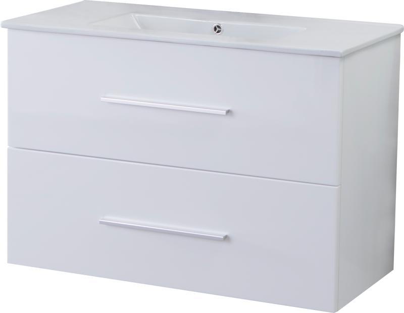 Malin Smal 80x40 hvit