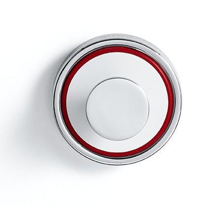 Rode krok Hvit