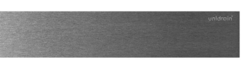 HighLine Panel Børstet stål 800 mm