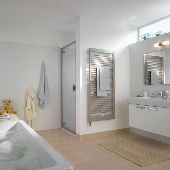 kermi credo uno radiator varmepumpe variant vvs vvs eksperten. Black Bedroom Furniture Sets. Home Design Ideas