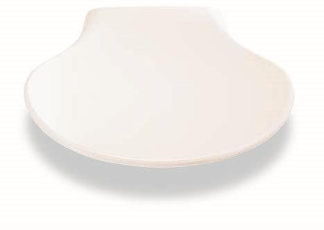 Pressalit klappsete med demping  Hvit