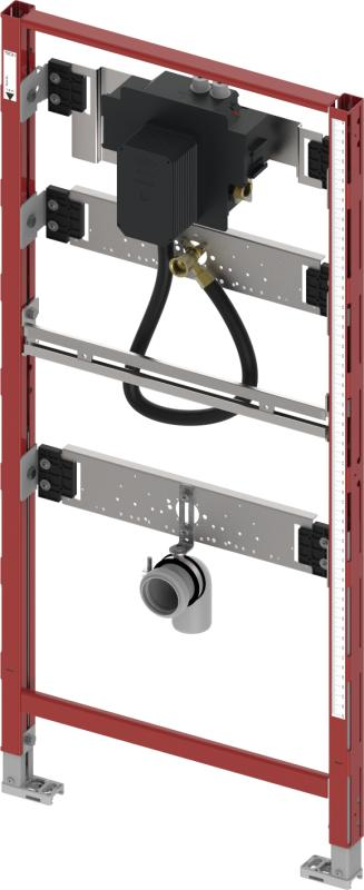 TECEfilo urinalramme, U 2 ventilhus, 1120 mm