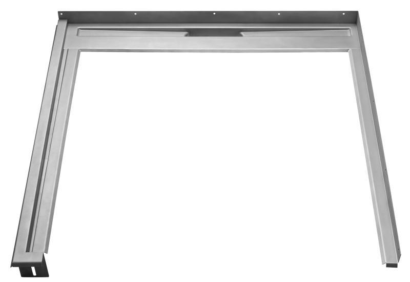 Glassline Fast modul, venstremontert L : 800 mm H: 900 mm