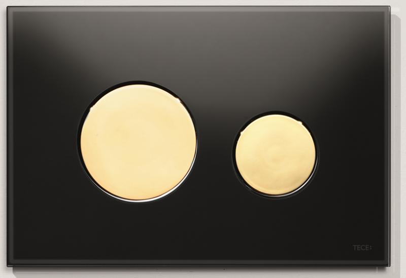 TECEloop sort glass/gull knapper