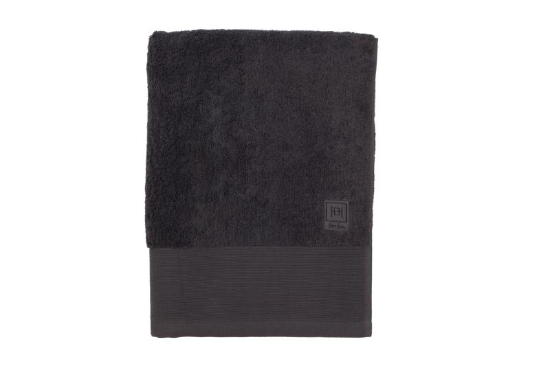 Halvor Bakke Bath håndkle 50x100 Mørk grå