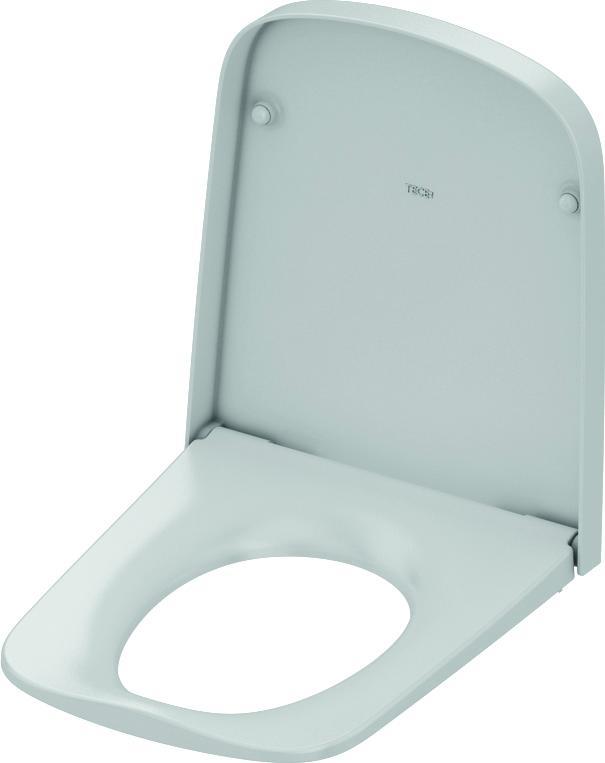 TECEone toalettsete med lokk, Soft Close