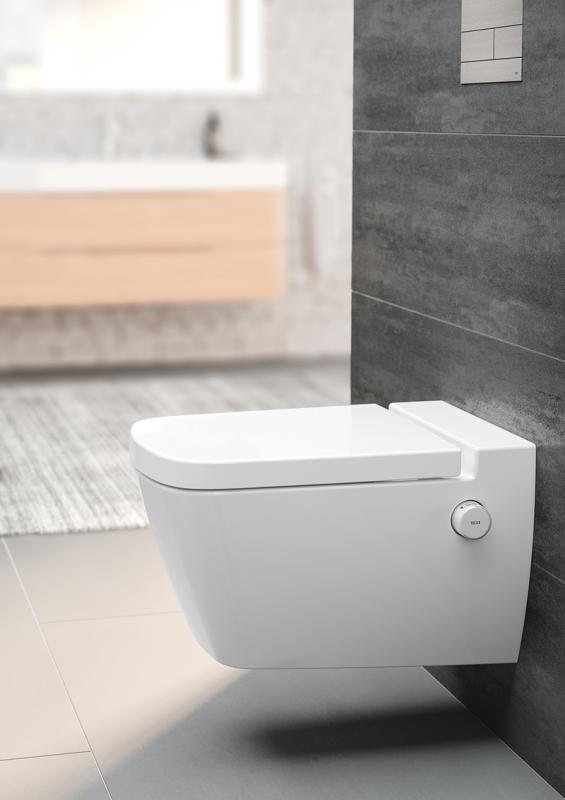 TECEone toalettskål med dusjfunksjon