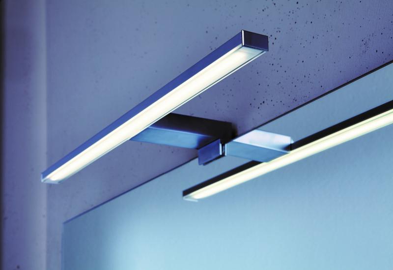Clivia LED-Belysning for Speil 50cm Alu