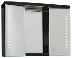 Kattegatt 80 m/ 4 LED lys svart høyglans