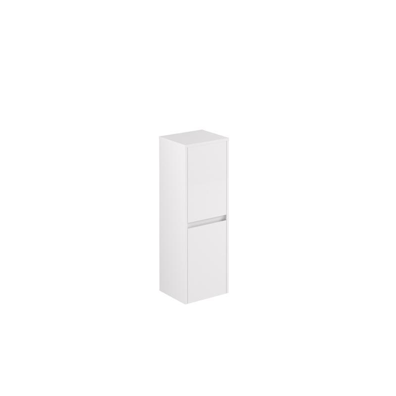 AllDay sideskap 105 hvit høyglans venstre