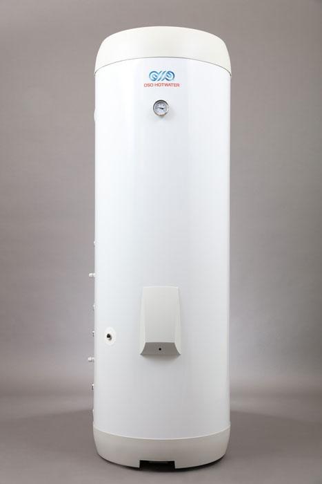 OSO Delta Twin Coil DTC 300 - 3 kW/1x230V + HX 0,8+0,8m2